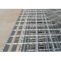 China Galvanized Serrated Flat bar Serrated Steel Grating for platform wholesale