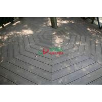 Buy cheap No Maintain WPC Garden Decking Longlifespan Moisture Resistance 140 * 32mm from wholesalers
