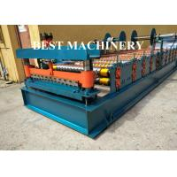 China Rolling Shutter Door Forming Machine Slat Roll Material 0.8mm on sale