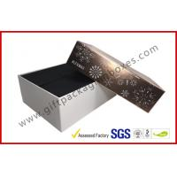 China Luxury Custom Cosmetic Boxes / Cosmetic Product Packaging With Snow Pic Lid , Matt Finish on sale
