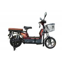 China Four Shock Absorbers Electric Motorized Bicycles Black Womens Electric Bike wholesale