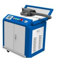 Buy cheap Hand Held Rust Removal Laser Cleaning Machine For 10-80mm Scan Width from wholesalers