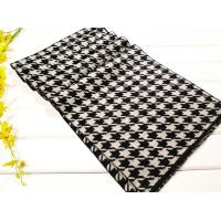 China 2013 fashion Mens winter black and white plaid long Silk Scarf 100% pashmina/wool/cashmere scarves Shawl wholesale