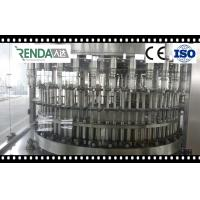Washing Filling Capping Small Scale Beverage Water Bottle Filling Machine