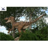 China Interactive Life Size Dinosaur Models With Realistic Surface Snowproof Sunproof on sale