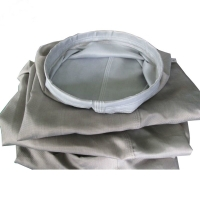 China 280 Degree Roving Plain Woven Fabric Filter Plant Bags wholesale
