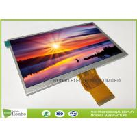 """China 7.0"""" RGB Interface Lcd Display 800 X 480 , Wide View High Brightness LCD Module wholesale"""