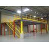 China Medium Duty Mezzanine Racking System , Load Bearing Analysis Rack Supported Mezzanine Floor wholesale