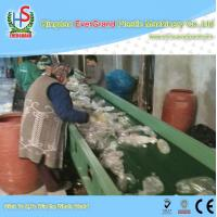 China 10 - 18mm Particle Size PET Bottle Recycling Machine , 1000kg/h PET Bottle Crushing Machine on sale