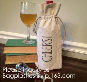 Buy cheap Colorful Burlap Bag Drawstring Gift Bags Jute Bag Hessian Linen Sacks Jewelry from wholesalers