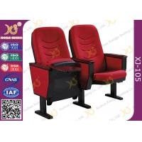 China Solid Wood Armrest Church Chair Stadium Theater Seating With Steel Leg wholesale