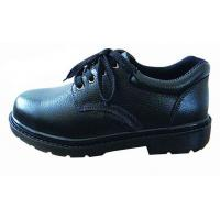 China Industrial Work Shoes Anti Static / Non Slip Work Shoes Black With Non Woven Fabrics Lining wholesale