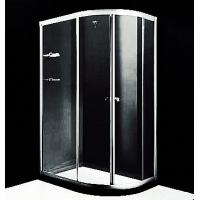 China Versatile 1000 X 1000 Quadrant Shower Enclosures 4mm - 6mm Frosted Glass Material wholesale