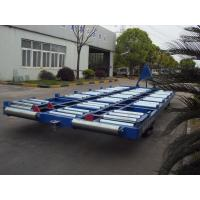 China Safety Container Pallet Dolly Tube Roller 89 x 4 mm Prevent Detachment wholesale