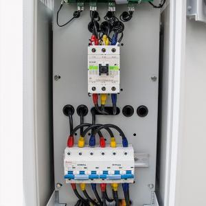 China Touch Screen HMI TSGC2 SVC Three Phase Voltage Regulator wholesale