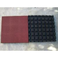 Quality Rubber Floor / Safety Playground Rubber Floor (EN1177) for sale