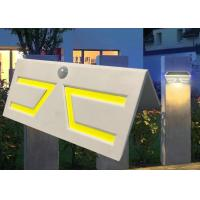 China Fashion Motion Sensor Solar Garden Light , Solar Patio Wall Lights Sun Resistance wholesale