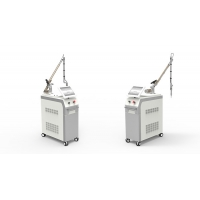 China Medical Active 100mj-1500mj Q Switch Laser Machine Permanent Tattoo Removal wholesale