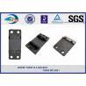 China Double Shoulder Forged Cast Rail Base Plate Hole Diameter 10MM wholesale
