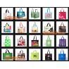 China NON WOVEN SHOP BAG, Eco reusable colorful foldable non woven bag,non woven shopping bag wholesale