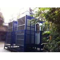 China 2000kgs Operator Cab Construction Material Hoists Dual Cage SC200 / 200 wholesale
