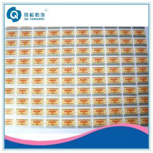 Matte Waterproof Plastic Labels , PE / PP / BOPP Color Printing Sticker