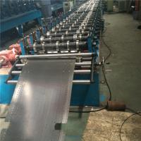 China Galvanized Automatic Roll Forming Machine Thickness 0.8mm Fit Supermarket Display wholesale