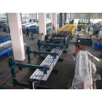 China Thin Type Roof Panel Roll Forming Machine , Corrugated Sheet Making Machine Normal Speed wholesale