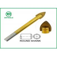 China Titanium Coated Metric Masonry Drill Bits Round Shape 3 - 16MM Length wholesale
