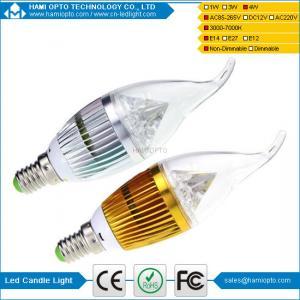 China 2014 High Brightness LED Candle Bulb Lights  E14/E27 wholesale