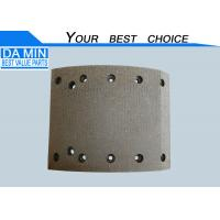 China 10 Holes  ISUZU Heavy Duty Truck Brake Lining 1471266980 And 2 Sensor Holes wholesale