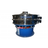 China Single Layer Stainless Steel Cheese Vibratory Screening Equipment on sale