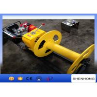 China Cable Pulling Gas Powered Winch Air Cooled Diesel Engine 840×600×500 wholesale