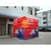 China 3.5m attractive filled cube balloon with four sides digital printing for Political events wholesale