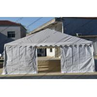 China 6 X 12m Outdoor Event Tent White Color Pvc Cover With Transparent Church Windows wholesale