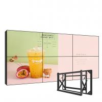 "China Wall Mounted Ultra Narrow Bezel Video Wall , 49"" Seamless Led Video Wall wholesale"