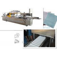 China Printing And Folding Non Woven Fabric Machine For N W Fold Shape , Low Noise on sale