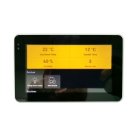 China Android POE Touch Wall Mounted 5 Inch Tablet With Zigbee Coordinator And PS wholesale