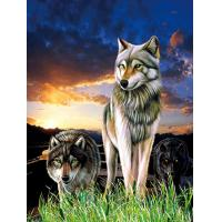 China 0.6mm PET+157g Coated Paper 3D Lenticular Pictures / 3D Lenticular Wall Art wholesale