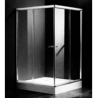 China Single Rectangular Shower Cubicles , 1000 X 800 Two Sided Glass Shower Enclosure wholesale