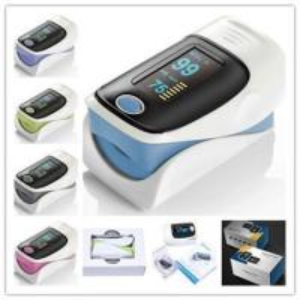 China Finger Oxygen Reader Digital Heart Rate Sensor , Pulse Ox Finger Monitor on sale