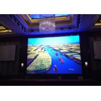 China P5 Full Color IP43 SMD indoor LED video wall  1800CD Brightness Automatically wholesale