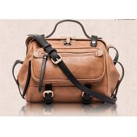 China Western Style Fashion Ladies Handbags , retro leather motorcycle bag  large capacity wholesale