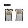 China Sublimated Youth Football Jerseys , Logo Custom College Football Jerseys wholesale
