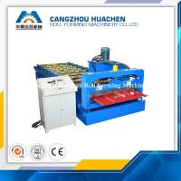 China R Panel Roofing Sheet Roll Forming Machine 4.5T Machine Weight , 45# Steel Rollers wholesale