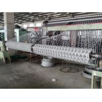 China Heavy Duty Galvanised Gabion Machine Wire Mesh Hexagonal 4300mm Width wholesale