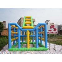 Buy cheap 0.9mm PVC Tarpaulin Inflatable Water Climbing Equipment  For Adults from wholesalers