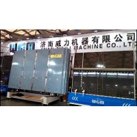 China High Speed Vertical Glass Washing Machine , Mechanical Glass Washer Easy Operation wholesale