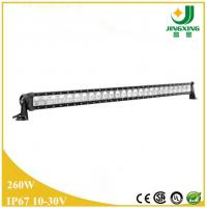 China 49 inch 24v led light bar 260w high lumen led light bar for truck on sale