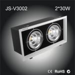 China 2*30W High power Epistar COB LED box lamp citizen chip high lumen led spot light wholesale